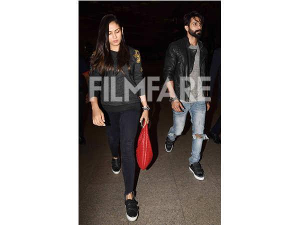 Mira Kapoor and Shahid Kapoor
