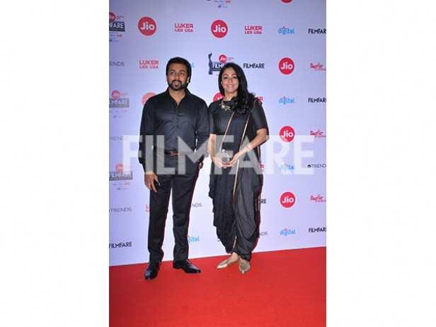 Karthi, Suriya and Jyothika