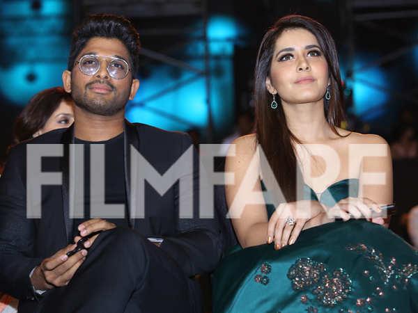 Allu Arjun and Raashi Khanna