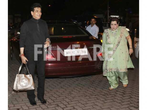 Jeetendra and Shobha Kapoor