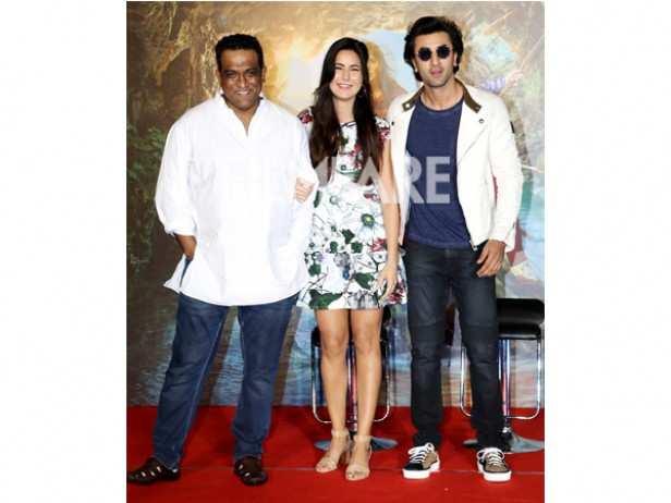 Anurag Basu, Katrina Kaif and Ranbir Kapoor