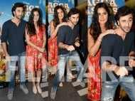 Katrina Kaif and Ranbir KapoorRanbir Kapoor and Katrina Kaif snapped at the Jagga Jasoos trailer launch