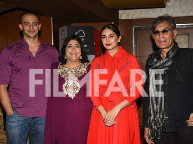 Arunoday Singh, Huma Qureshi, Denzil Smith