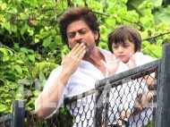Eid special:  Shah Rukh Khan and son AbRam celebrate with fans