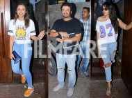 Parineeti Chopra, Richa Chadda and Vikas Bahl dine together