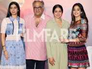 Sridevi, Jhanvi Kapoor, Boney Kapoor and Khushi Kapoor launch Mom's trailer