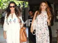 Iulia Vantur and Neha Dhupia carry a cool summer style