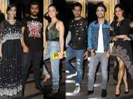 Alia Bhatt, Sidharth Malhotra, Sonam Kapoor, Arjun Kapoor, Sushant Singh Rajput and Jacqueline Fernandez party at Gauri Khan's restaurant