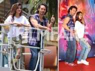 Tiger Shroff and Nidhhi Agerwal show off their dance moves!