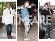 Airport diaries: Ritesh Deshmukh, Armaan Malik and Anurag Basu snapped