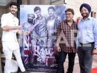 Raagdesh team launch their trailer in the Indian Parliament