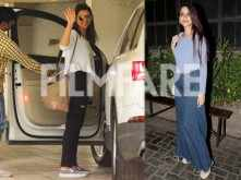 Bollywood Divas Parineeti Chopra and Sonali Bendre spotted