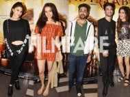 Jacqueline Fernandez, Shraddha Kapoor, Aayushman Khuranna attend Raabta screening