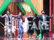 Anil Kapoor, Arjun Kapoor, Ileana D'Cruz and Athiya Shetty have a gala time promoting Mubarakan