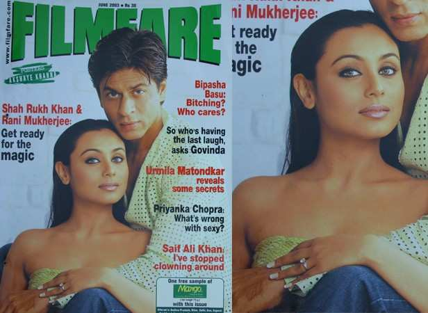 Rani with Shah Rukh Khan (June 2003)