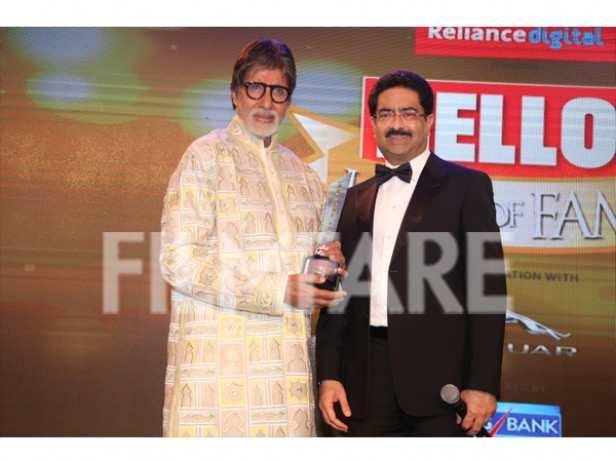 Amitabh Bachchan and Mr. Kumar Mangalam Birla