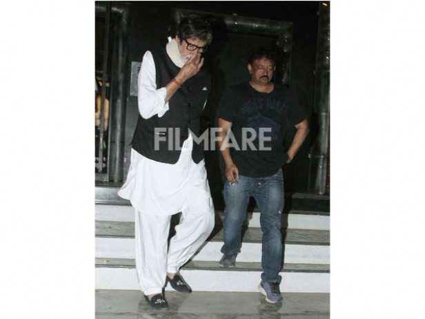 Amitabh Bachchan and Ram Gopal Varma