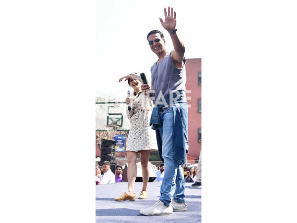 Akshay Kumar and Taapsee Pannu