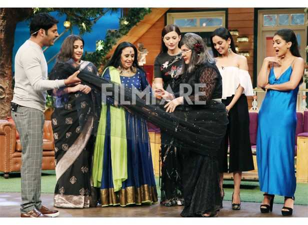 Vidya Balan storms the Kapil Sharma show with Begum Jaan co-stars