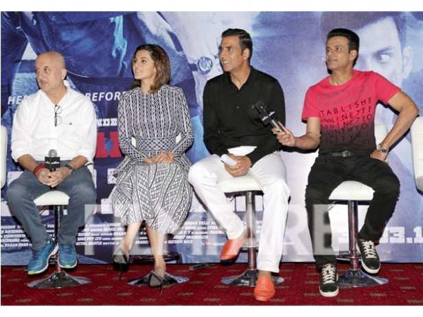 Anupam Kher, Manoj Bajpayee, Taapsee Pannu and Akshay Kumar
