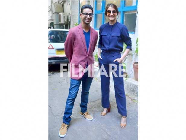 Anushka Sharma and Suraj Sharma
