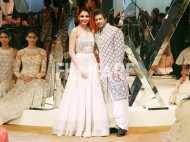 Shah Rukh Khan and Anushka Sharma stun as showstoppers at Manish Malhotra's Mijwan show