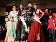 John Abraham snapped at a beauty pageant for visually impaired girls