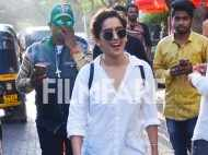Sanya Malhotra creates fan frenzy on the streets!