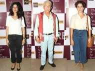Naseeruddin Shah, Nimrat Kaur and Sanya Malhotra attend a screening