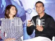 Akshay Kumar, Taapsee Pannu and Manoj Bajpayee promote Naam Shabana