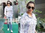 Malaika Arora looks summer ready in cool blue