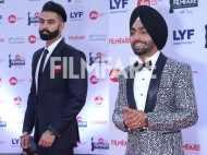 Parmish Verma and Ammy Virk look dapper at the Jio Filmfare Awards (Punjabi)
