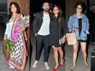 Team Dangal Nitesh Tiwari, Sakshi Tanwar and Fatima Sana Shaikh spotted at Aamir Khan's birthday bash
