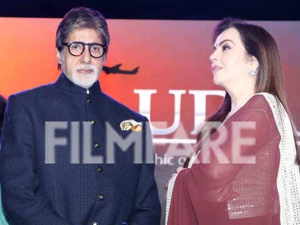 Amitabh Bachchan and Nita Ambani