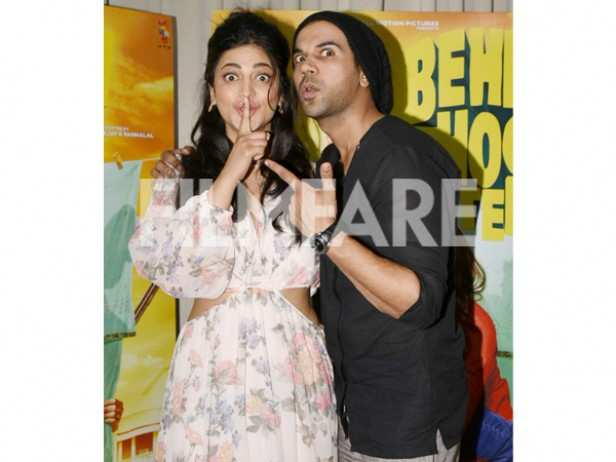 Shruti Haasan and Rajkumar Rao