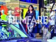 Jhanvi Kapoor rocks athleisure for her shopping trip