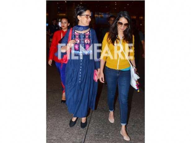 Shivangi Kolhapure and Shraddha Kapoor
