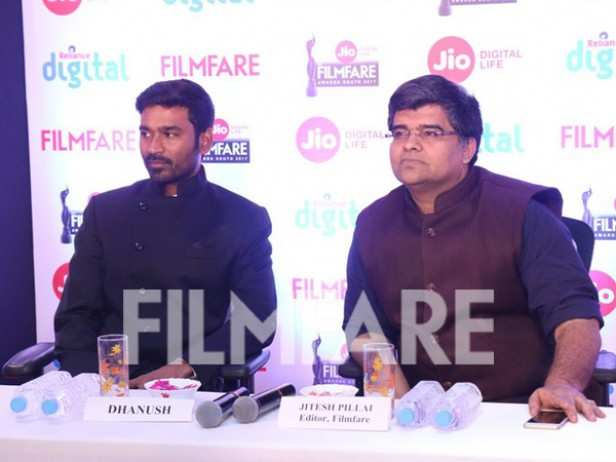 Dhanush and Jitesh Pillaai