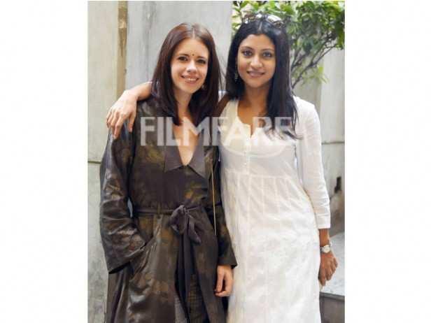 Kalki Koechlin and Konkona Sen Sharma