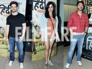 Sooraj Pancholi, Shreyas Talpade and Kirti Kulhari watch Hindi Medium