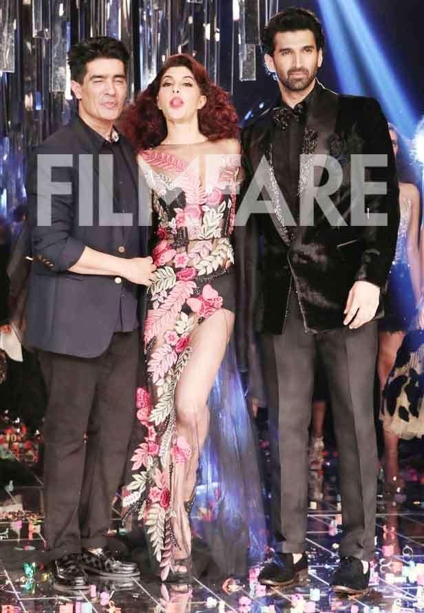 Manish Malhotra, Jacqueline Fernandez, Aditya Roy Kapur