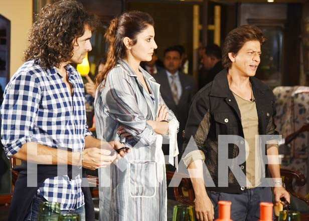 Imtiaz Ali, Anushka Sharma and Shah Rukh Khan