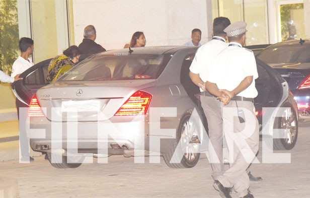 Rani Mukerji, Aditya Chopra, Pamela Chopra