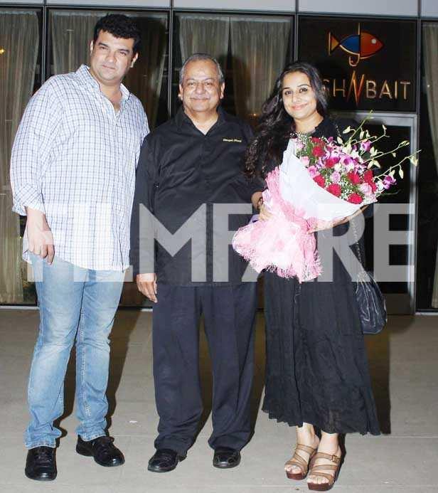 Pictures: Vidya Balan enjoys dinner date with husband Siddharth Roy Kapur