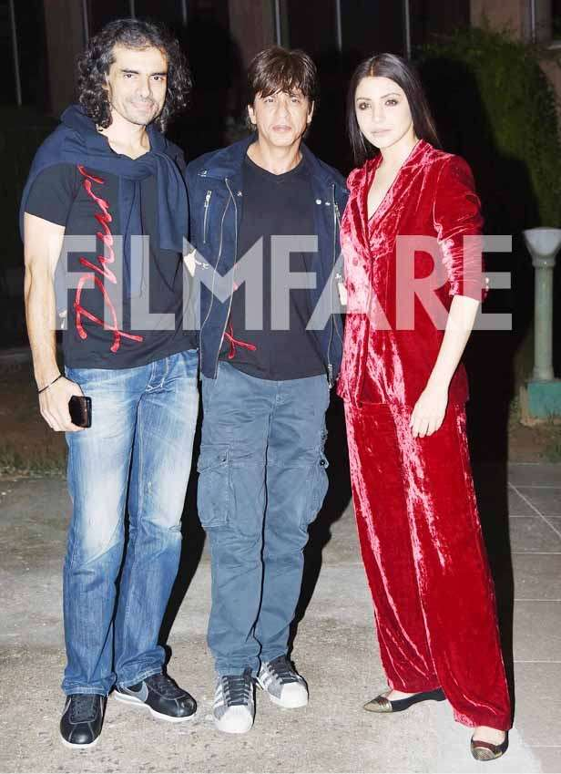 Imtiaz Ali, Shah Rukh Khan and Anushka Sharma