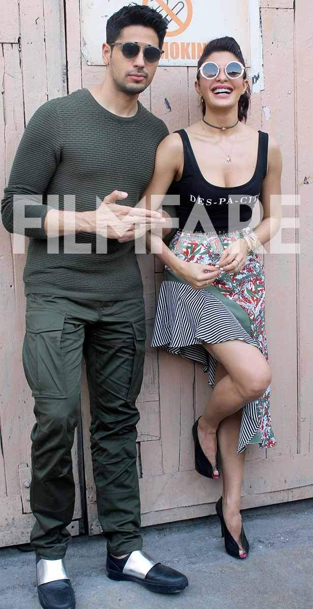 Sidharth Malhotra and Jacqueline Fernandez