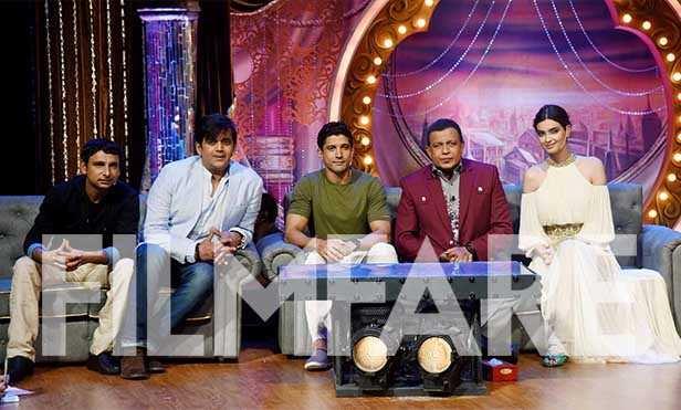 Inaamulhaq, Ravi Kishan, Farhan Akhtar, Mithun Chakraborty and Diana Penty
