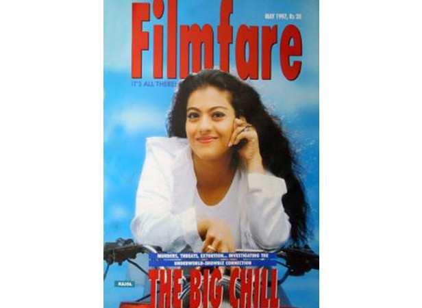 Kajol on May 1997 cover
