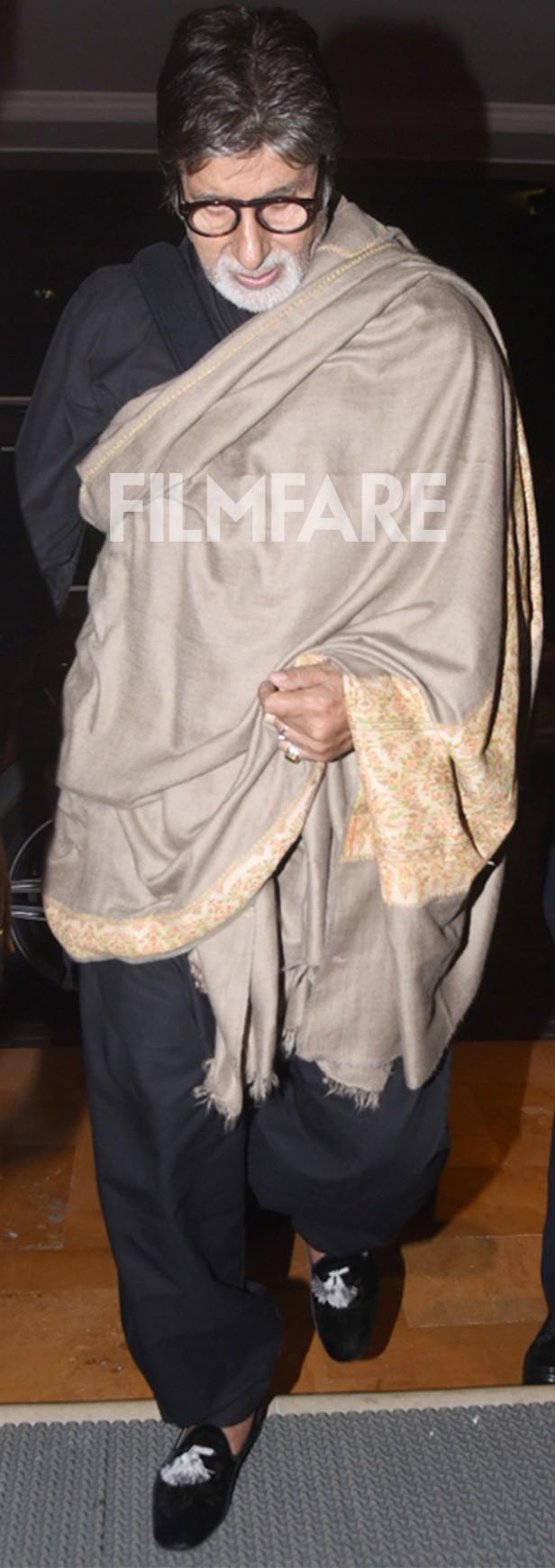 Amitabh Bachchan, Mukesh Ambani, Nita Ambani, Isha Ambani, Akash Ambani