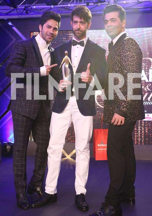 Varun Dhawan, Hrithik Roshan, Karan Johar